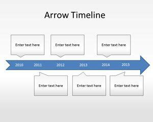 timeline template powerpoint free arrow timeline diagram powerpoint template free