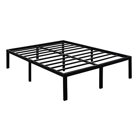 tall metal bed frame 3000lbs max weight capacity tatago 16 inch tall heavy duty