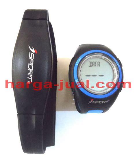 jam tangan sporty pengukur detak jantung pembakaran kalori harga jual