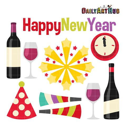 new year clip set happy new year clip set daily hub