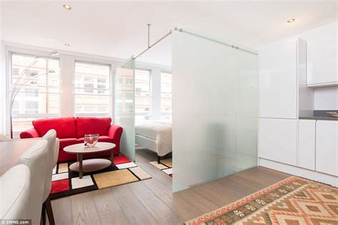 seperate bedrooms one bedroom flat among smallest in london hits market for