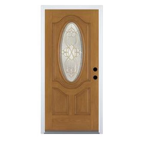 glass front doors lowes benchmark therma tru clear decorative glass entry door