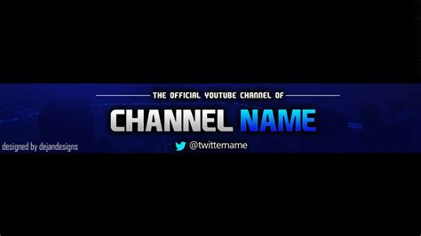 Youtube One Channel Change Your Youtube Channel Art Banner Best Business Template Channel Banner Template