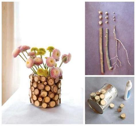 vaso fai da te cachepot fai da te con dei legnetti 20 idee stupende per