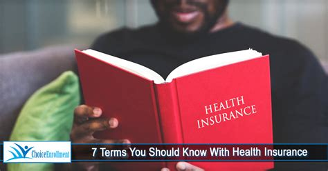 7 Health You Should by 7 Terms You Should With Health Insurance Choice