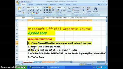report layout excel 2007 how to total row in excel 2007 how to add formulas a