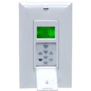 Outdoor Light Timer Jasco 15312 Ge In Wall 7 Day In Wall Self Adjusting