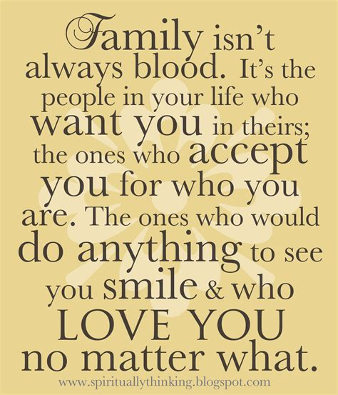 Family Quotes Quotes About Friends Being Family Quotesgram