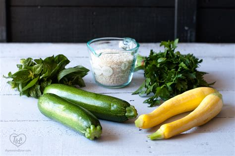 comfort colors squash zucchini squash risotto thyme love