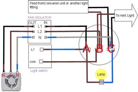 light bathroom fan switch wiring diagram get free