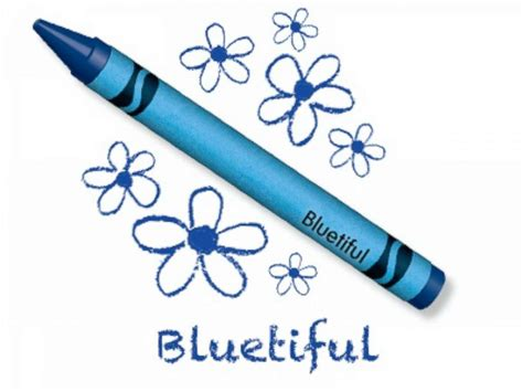 new blue color crayola names new blue crayon bluetiful after retiring