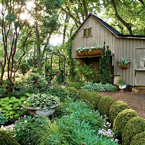 cottage backyard cottage garden house ideas