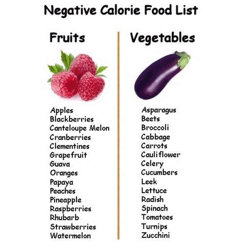 7 vegetables that burn negative calorie food list trusper