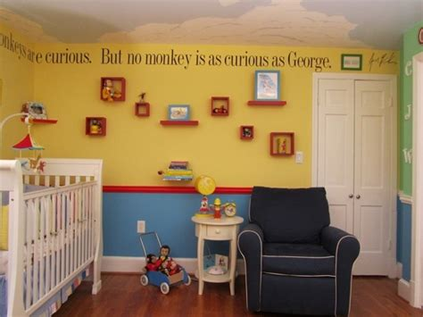 Curious George Nursery Decor Curious George Room Curious George