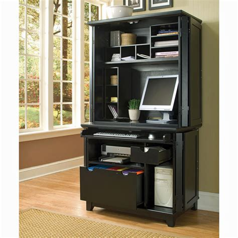 Furniture Gt Office Furniture Gt Armoire Gt Home Office Armoire Computer Armoire Black