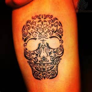 decorated skull meaning images