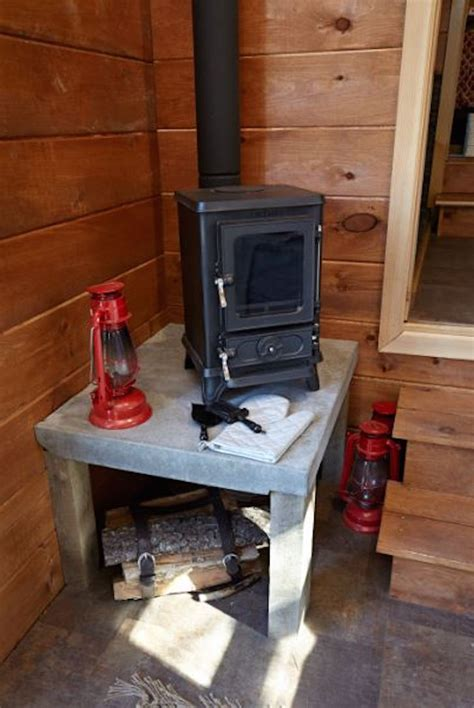 tiny house wood burning stove wood paneled tiny house built on a gooseneck trailer