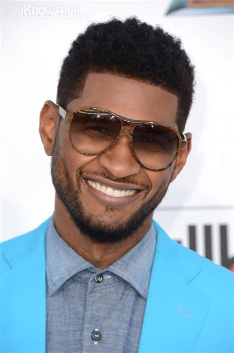 usher dyed mohawk mens short hair cuts hottest men hair styles men
