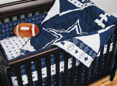Dallas Cowboys Crib Bedding Set Dallas Cowboys Fanatic Decor Sports Decor
