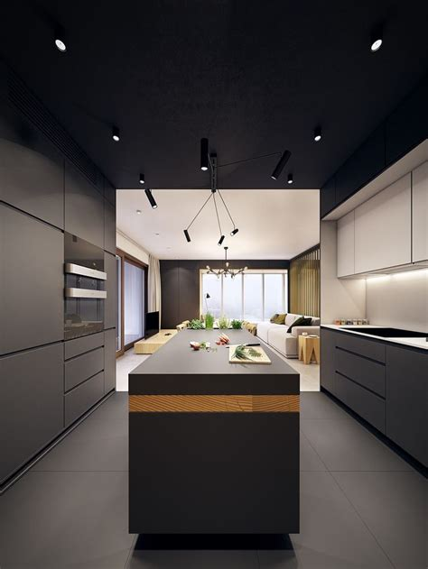 modern apartment kitchens 25 best ideas about luxury apartments on