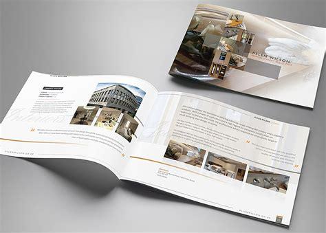 Brochure Designs Uk | brochure design for allen wilson group mode nine