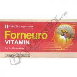 Vitamin Forneuro forneuro kapsul apotik antar apotik antar call center