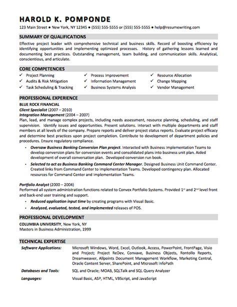resume template business analyst jalcine me