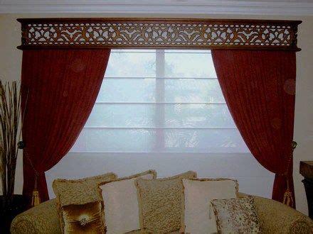 cenefas de madera cenefas de maderas para cortinas imagui living