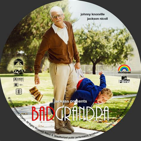 Jackass Presents Bad Grandpa 2013 Full Movie Covers Box Sk Jackass Presents Bad Grandpa 2013 High Quality Dvd Blueray Movie