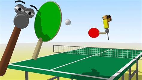 children s table tennis table funny tools for kids ep 16 let 180 s play table tennis