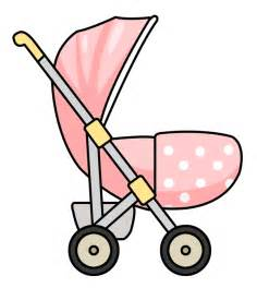 pink baby stroller clipart cliparts and others art