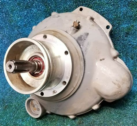 volvo penta  cylinder aq  bell housing flywheel cover primary shaft ebay