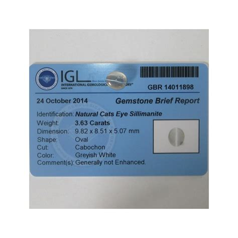 Cat S Eye Kyanite Memo promo batu mulia sillimanite cat eye putih 3 63 carat