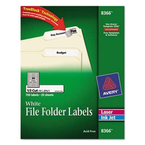 Avery File Folder Label Templates by Avery File Folder Labels Template