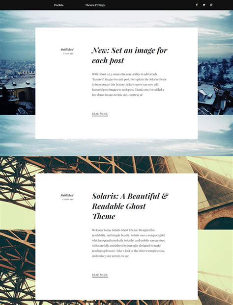blog themes for ghost 15 ghost blog themes templates free premium templates