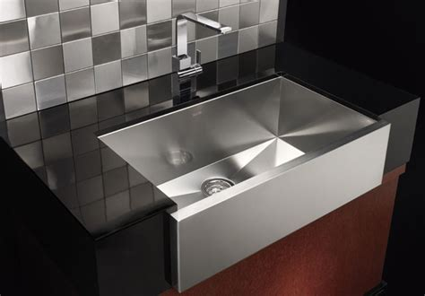 Modern Kitchen Sinks Blanco Precision Single Bowl With Apron Contemporary Kitchen Sinks By Blanco