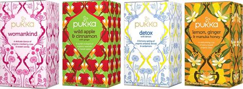 Health Benefits Of Pukka Detox Tea by Pukka Herbs Launches Four New Sensuous Tea Flavours