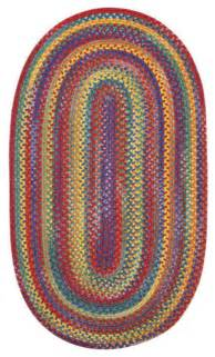 bright multi colored area rugs capel rugs kill hill bright multi colored braided
