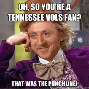 Tennessee Vols Memes - tennessee volunteers jokes kappit
