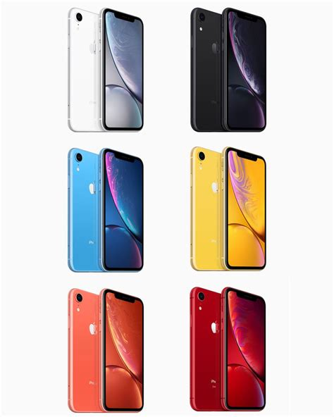apple unveils 6 1 inch iphone xr