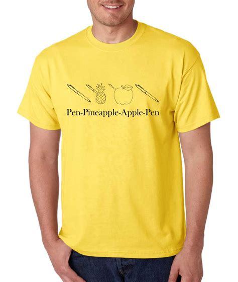 Tshirt Pen Pineapple Apple Pen Ppap Fightmerch s t shirt pen pineapple apple pen ppap chee humor