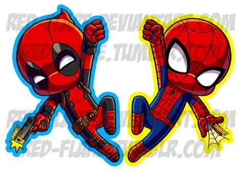 Marvel X Wolverine Chibi Key Chain Gantungan Kunci spider and deadpool chibi keychains by flare on deviantart