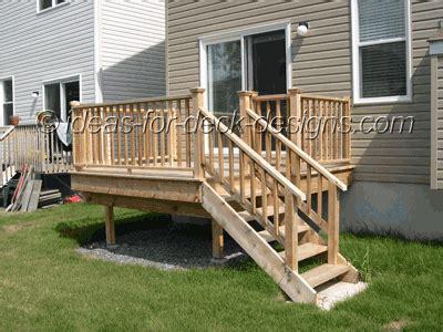 deck building installing deck railing step  step