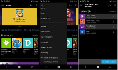 windows mobile store windows 10 mobile store updated with ui improvements