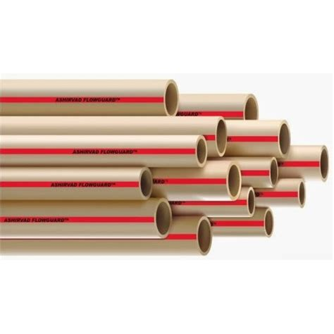 Plumbing Cpvc by 1 1 4 Quot Ashirvad Cpvc Pipe 13 5 Sdr 1ft