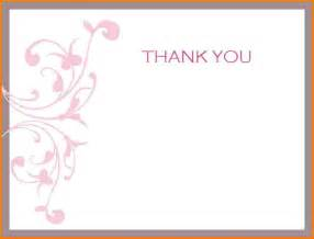 Thank You Card Template Word by Doc 770477 Thank You Card Templates For Word Thank You