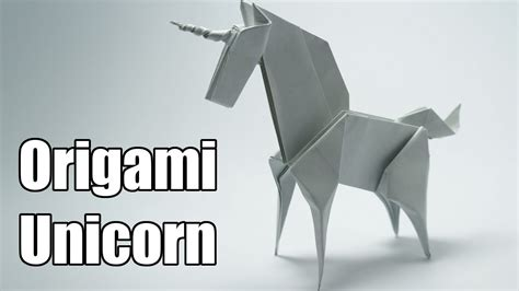 How To Make An Origami Unicorn - origami unicorn jo nakashima