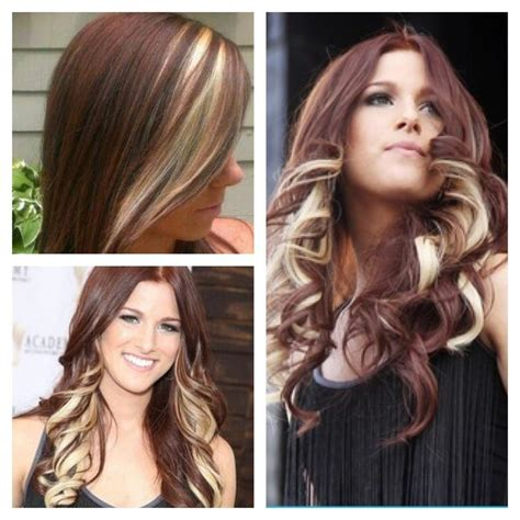blonde in the front and brown and peekaboo highlights in pinterest pin by michelle lynn brown on hair and beauty pinterest