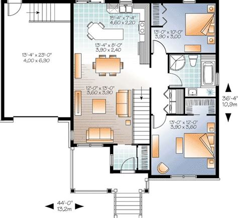 simple two bedroom house plans 18 best images about house plans on pinterest house