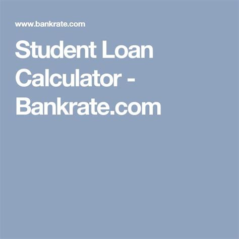 great student loan calculators for 2018 privatestudentloans com